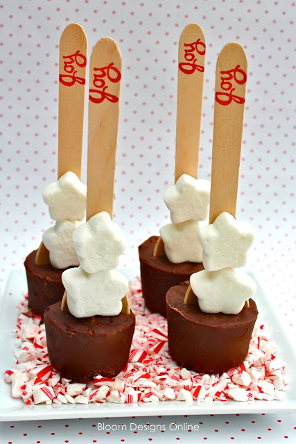 Make It Monday Hot Chocolate Spoons Part 1 Bloom Designs