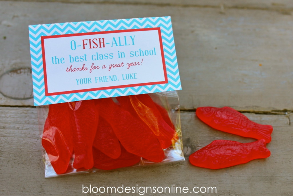 O-FISH-ALLY Fun Summer Gifts - Bloom Designs