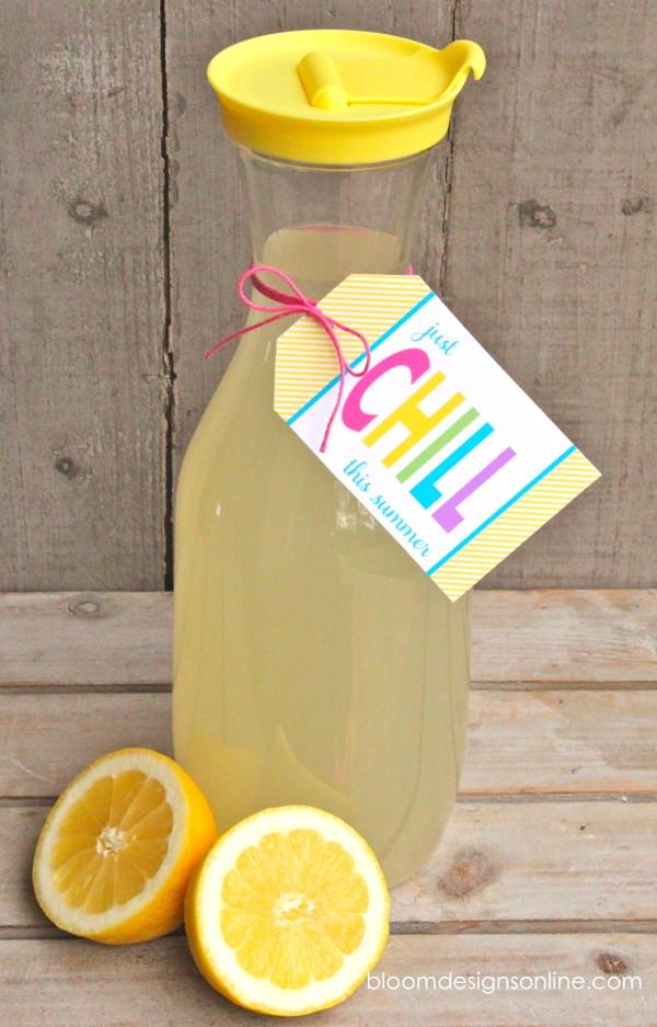 just chill lemonade