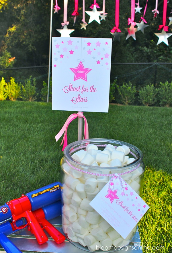 Design Dazzle Summer Camp: marshmallow game shoot for the stars