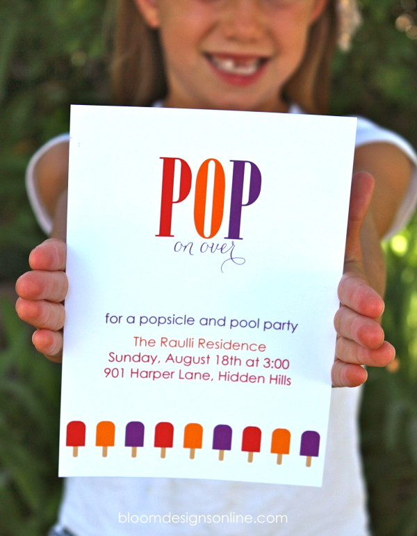 popsicle party