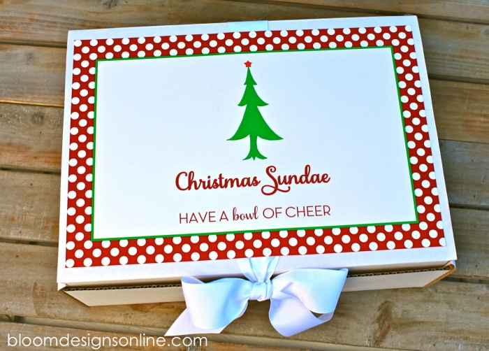 christmas sundae
