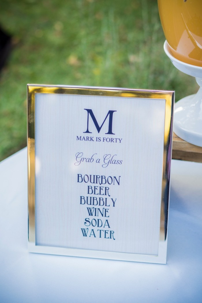 Bourbon And Bluegrass 40th Birthday Bloom Designs