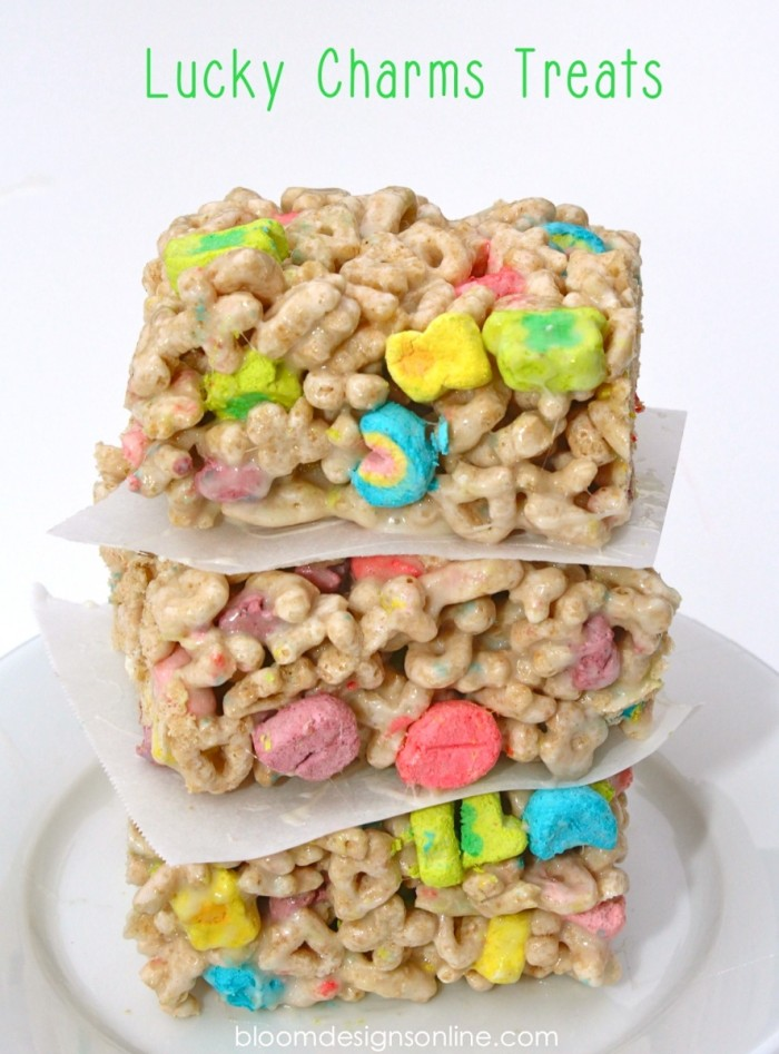 Image result for lucky charm rice krispies recipe