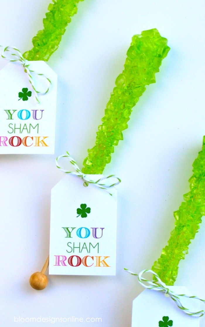 you sham rock- free printable for St. Patricks Day by Bloom Designs