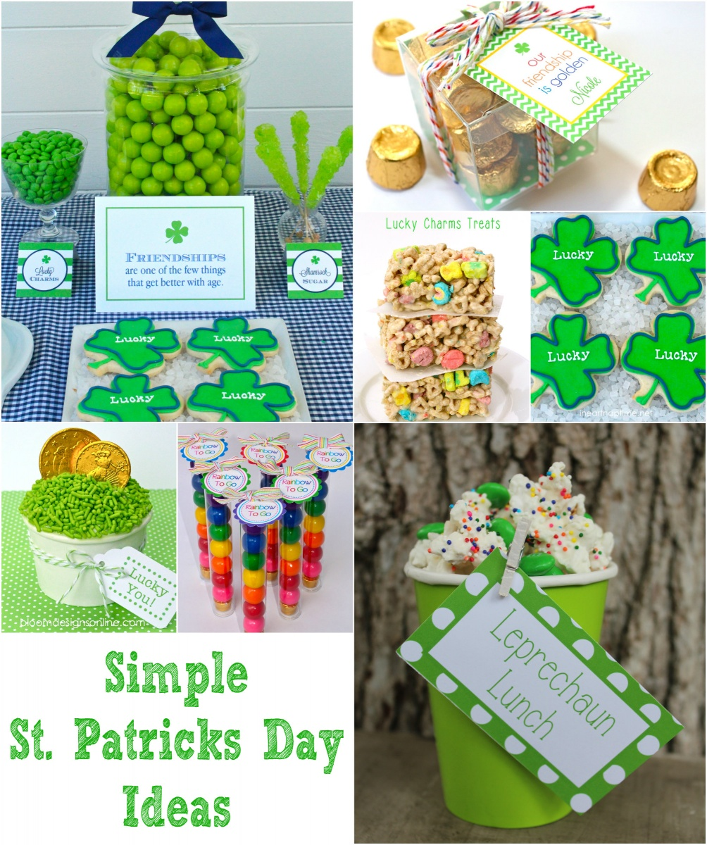 st patricks Collage