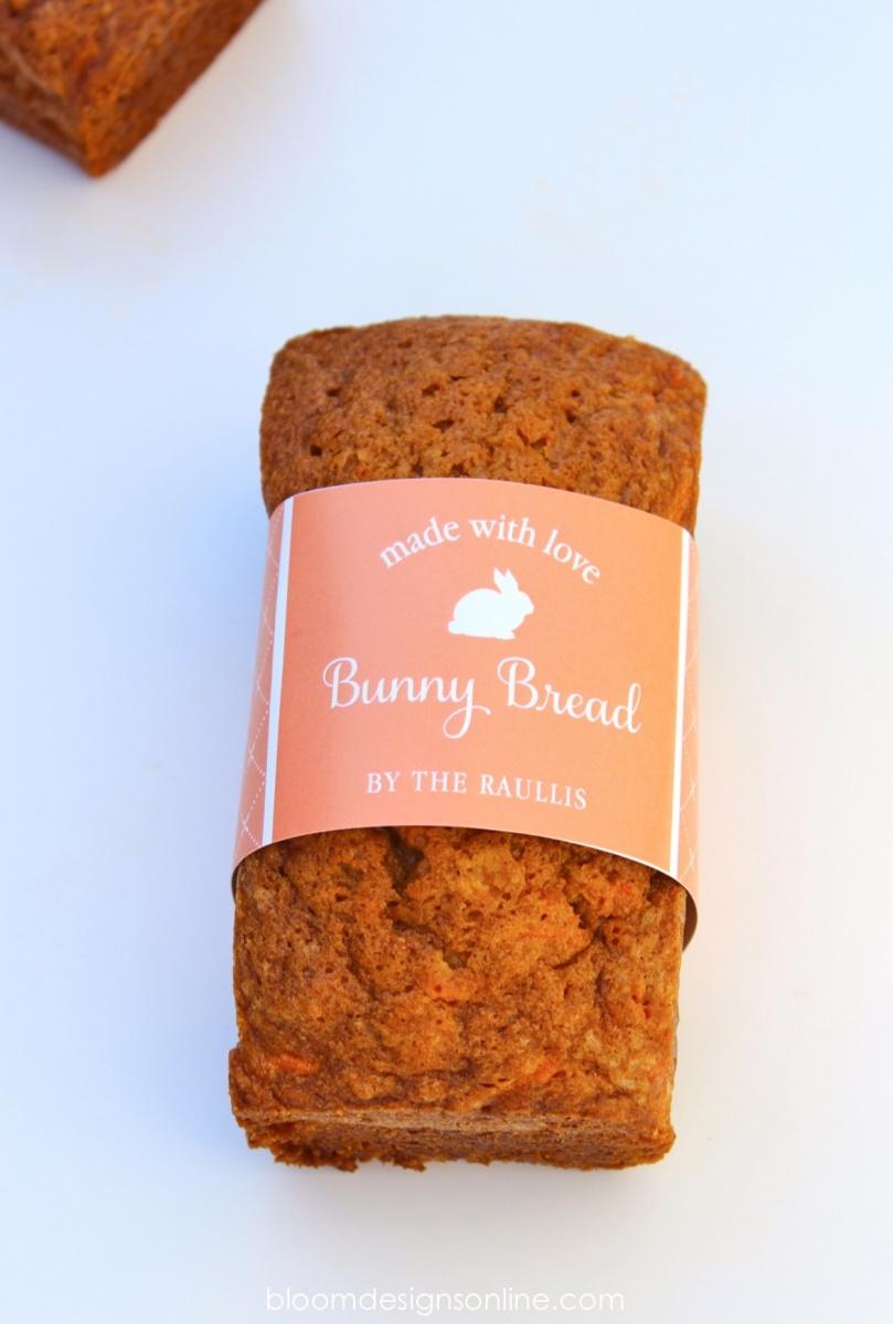 Bunny Bread Tags - Bloom Designs
