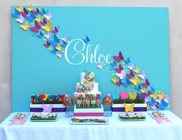Friday Feature Butterfly Party Bloom Designs