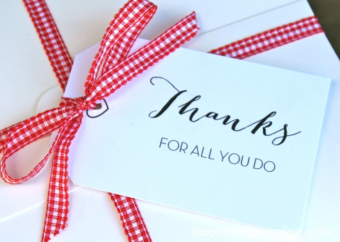 Thank You Tags - Bloom Designs