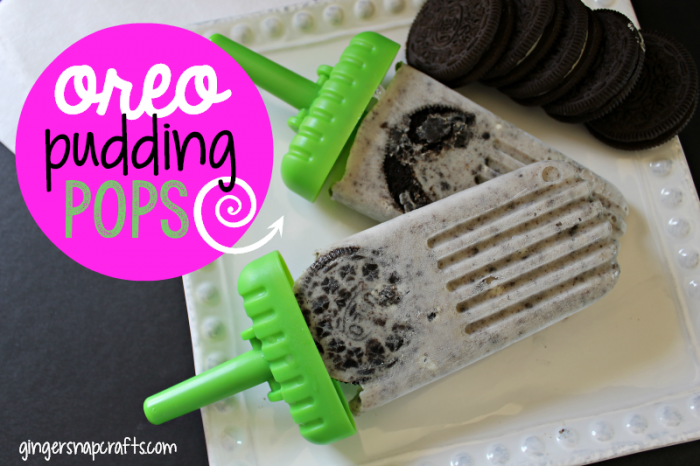 Oreo Pudding Pops at GingerSnapCrafts.com