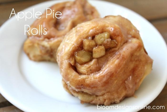 apple pie roll