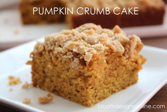 pumpkin crumb cake