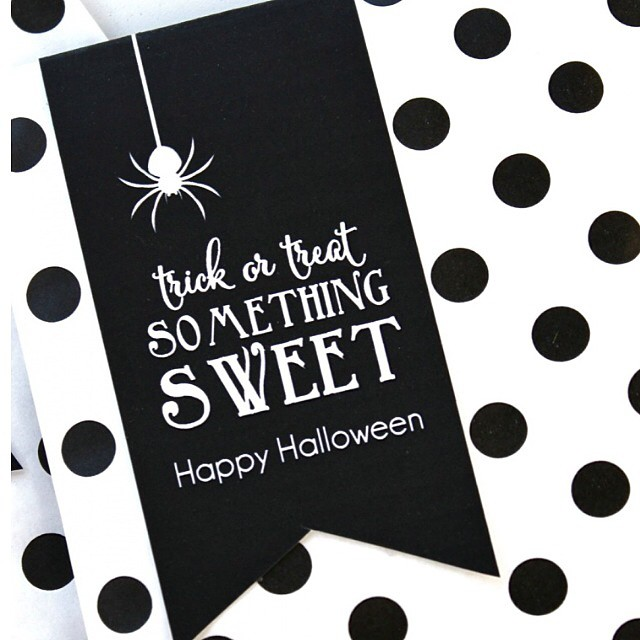 Broke out the Halloween decorations and our favorite pumpkin bread recipe. So excited to share some yummy treats with friends using our free tags. Come by our blog to get yours #halloween #pumpkin #treat #bloom #free