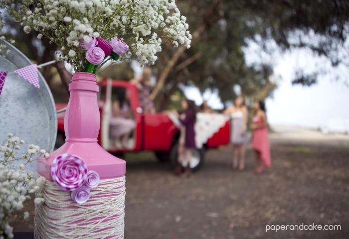 pinktruck bottle