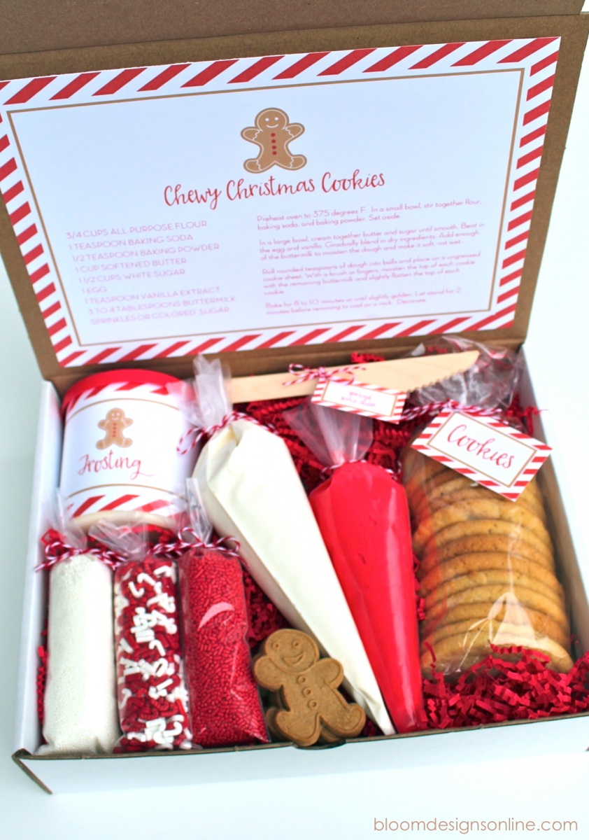 Christmas cookie kit bloom designs