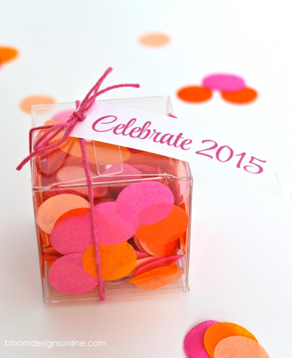 Confetti Favors - Bloom Designs