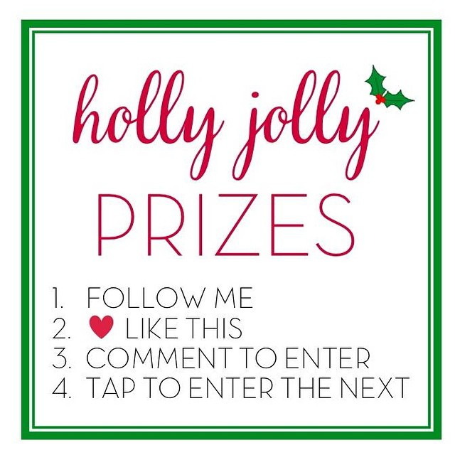 I am so excited to team up with a  wonderful group to share some Holly Jolly holiday prizes! Each member of the round robin will have a different prize so be sure visit all of us! I am giving away a $25 gift card to @target!  Entries: 1. Follow me and everyone in the loop 2. Like this image 3. In the comments, tag a friend or tell me what you want for Christmas. 4. Tap the picture and head over to @aimeebroussard. Make sure you follow all the steps. We will be checking to ensure the winners have followed all of them! Ends 12/18 10pm MST. Good luck and Happy Holidays!