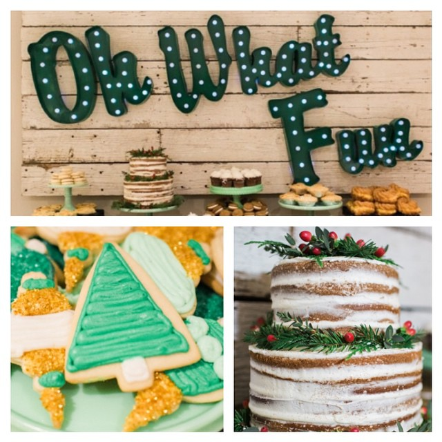 Don't miss this stunning Favorite Things Christmas Party by @jennycookies. I am in awe of every single detail!  LOVE. Link in profile. #christmas #party #jennycookie #ohwhatfun