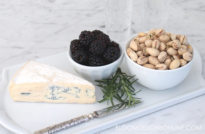 pistachio cheese platter