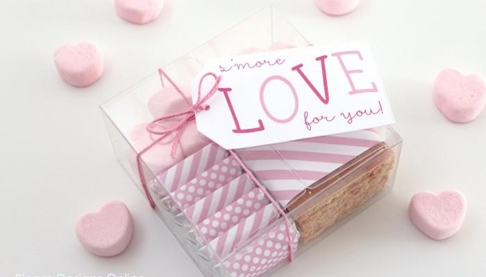 smore love valentines
