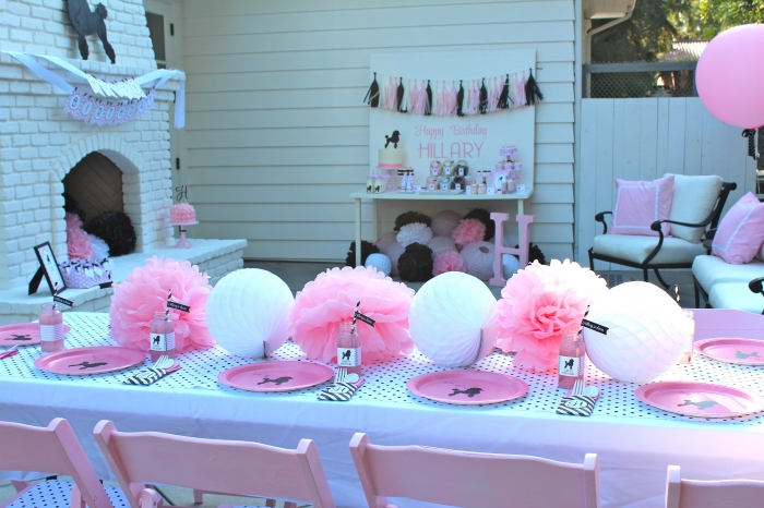 Pink Poodle Party By Bloom Bloom Designs