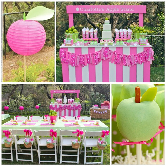 I've updated and added to our Apple of Our Eye Party collection. We are now offering photo invitations. Have you seen this party that I styled for my Charlotte's 6th birthday. Looking back I would not change a single things about it. Love every detail #apple #party #appleofmyeye #bloom #partytheme
