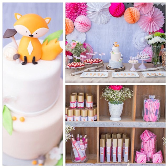 Sharing a Foxy Baby Foxy Mama baby shower by the amazing @petitepartystudio with the most adorable details. #babyshower #foxylady #fridayfeature #baby