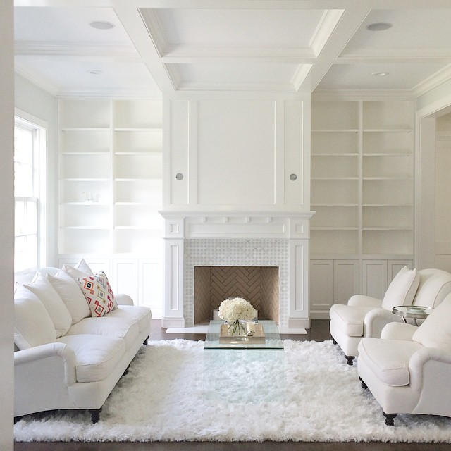 Project of the day:: Finding sconces for the fireplace and filling the bookshelves in the living room.  Any ideas?  What's your favorite go to place for home accessories? #remodel #raulliranch #homedecorating #fireplace #home