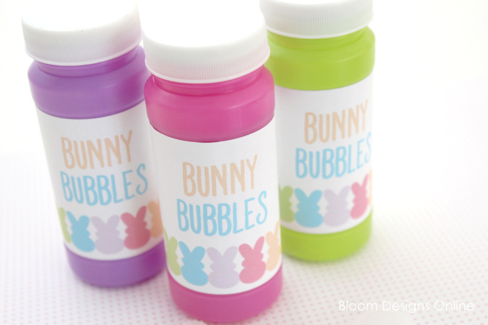 Bunny Bubbles Easter Printables