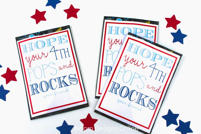 July 4th Pop Rocks