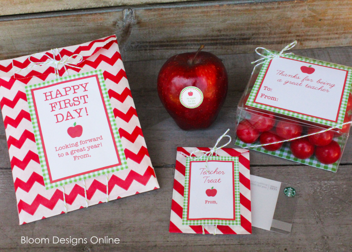 Back To School Teacher Appreciation Printables