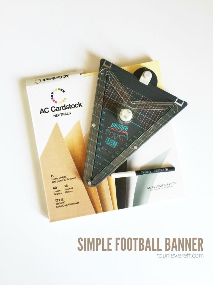 Simple Football Banner 800.0