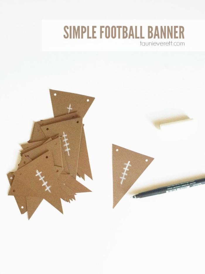 Simple Football Banner 800.4