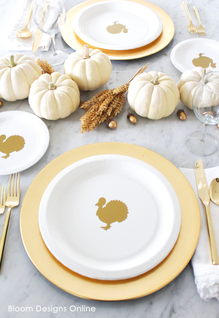 Thanksgiving Turkey Plates
