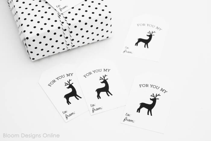 reindeer tags
