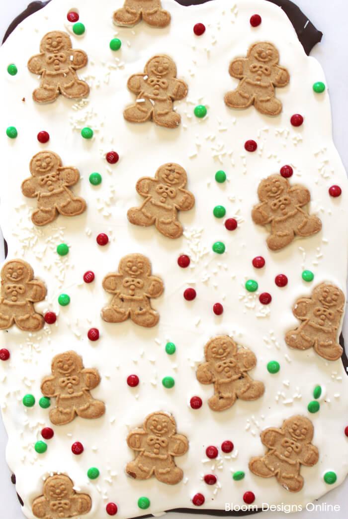 Gingerbread Cookie Bark Bloom Designs