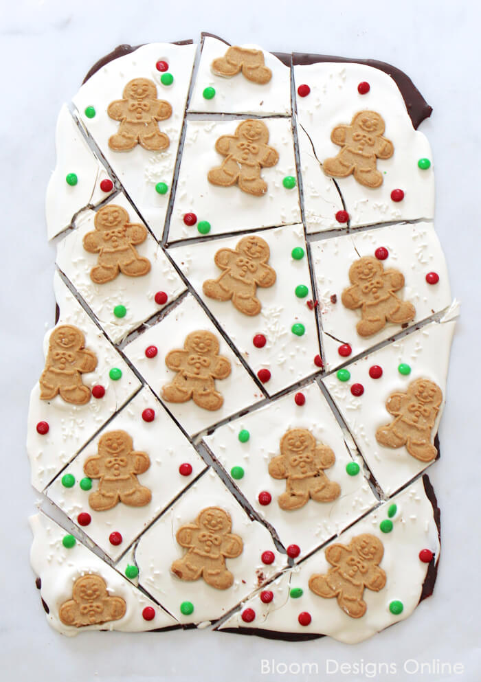 Gingerbread Cookie Bark
