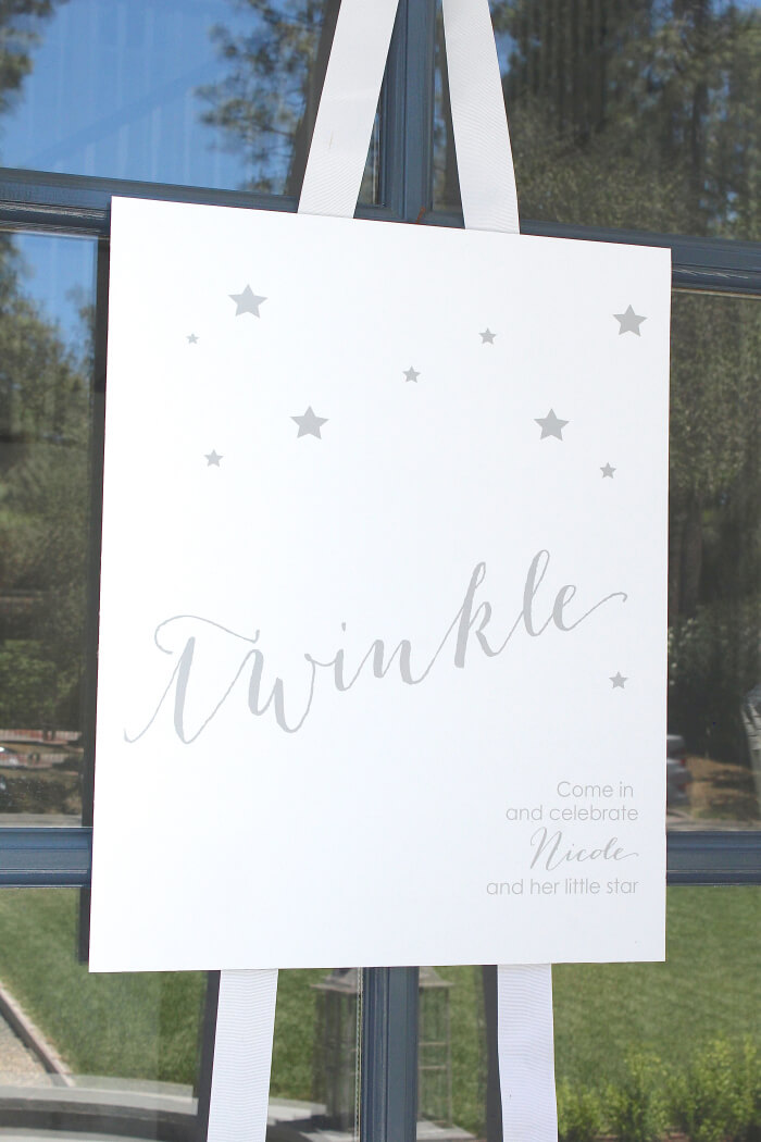 Twinkle Sprinkle Baby Shower by Bloom Designs