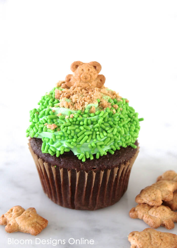 Groundhog Day Cupcake