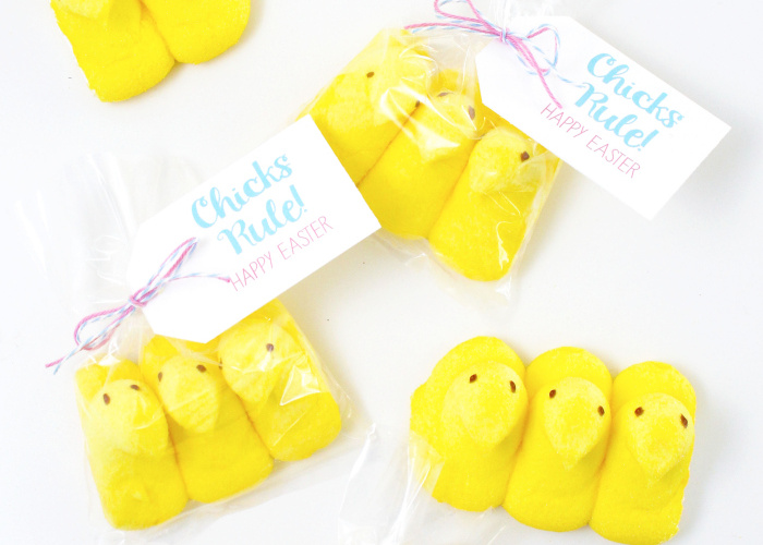 Chicks Rule Easter Printable from Bloom Designs