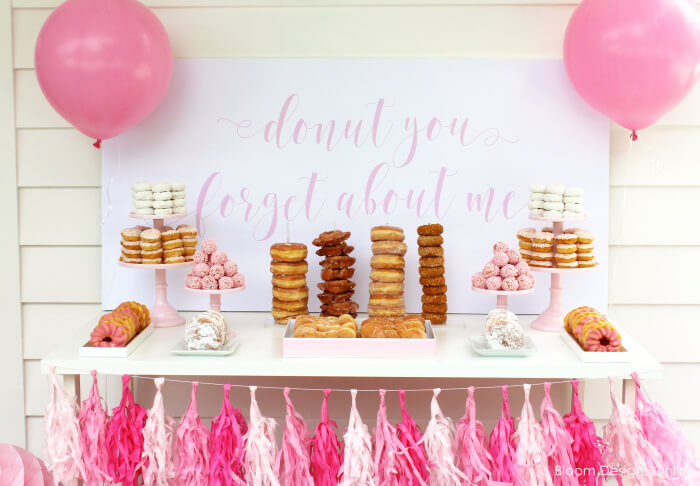 Donut Graduation Party