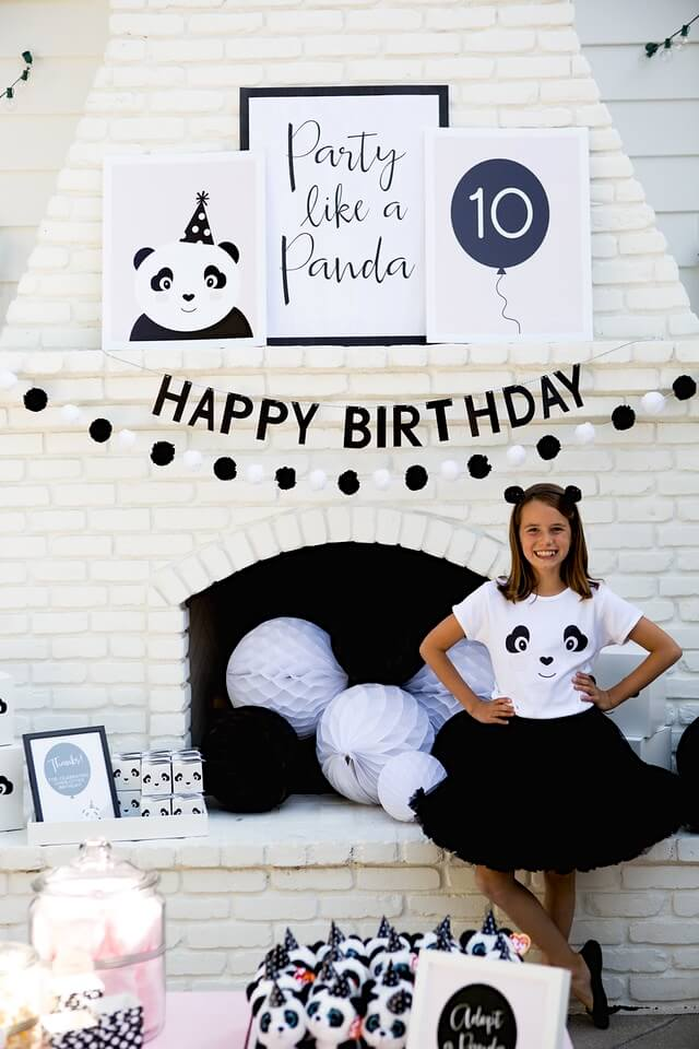 Party Like A Panda - Bloom Designs