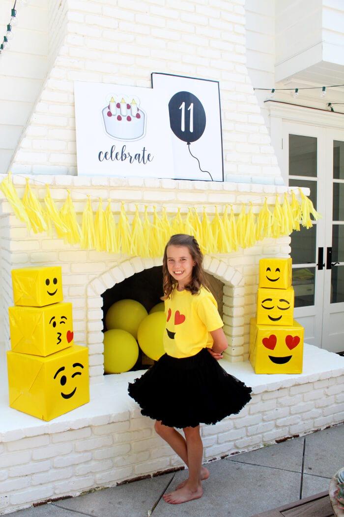 emoji birthday party